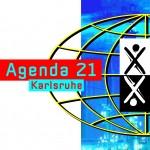 Logo Agenda 21 Karlsruhe