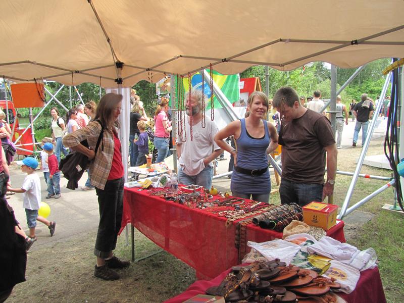 """Informationsstand bei """"Das Fest"""" 2010"""