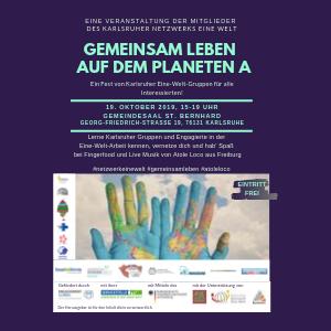 """Netzwerk-Event """"Gemeinsam leben auf dem Planeten A"""""""